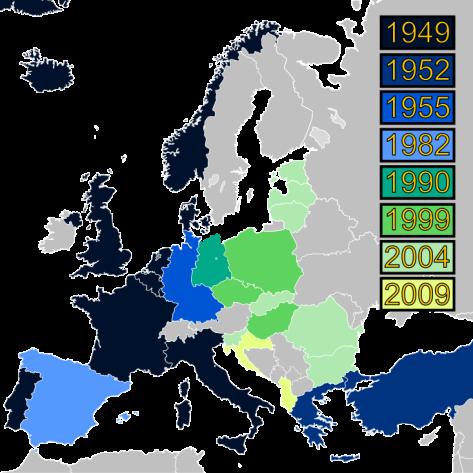Wikipedia - NATO 1949-2009