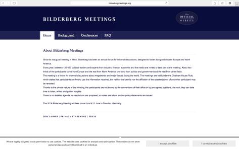 Offizielle Website der Bilderberger